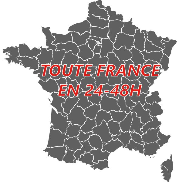 Carte Des Delais Agence Lahaye Global Logistics