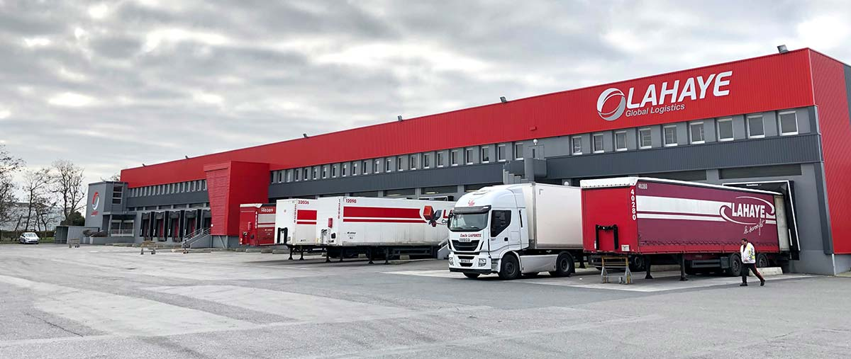 Lahaye Global Logistics Agence De Nantes Diapo 1
