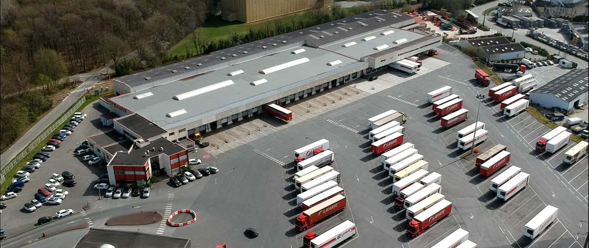 Lahaye Global Logistics Agence De Rennes Diapo 1