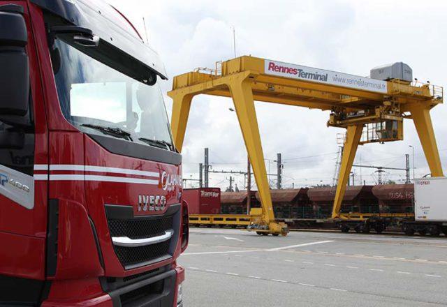 Lahaye Global Logistics Rennes Terminal Diapo 1