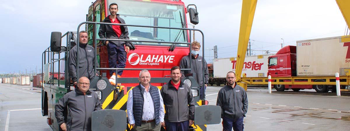 Lahaye Global Logistics Rennes Terminal Equipe