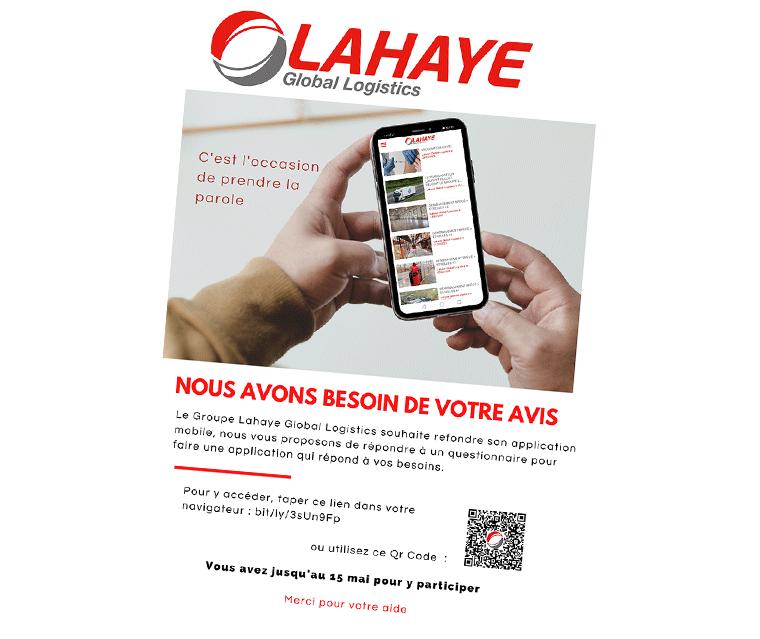 Affiche Pour Questionnaire Appli Mobile Lahaye