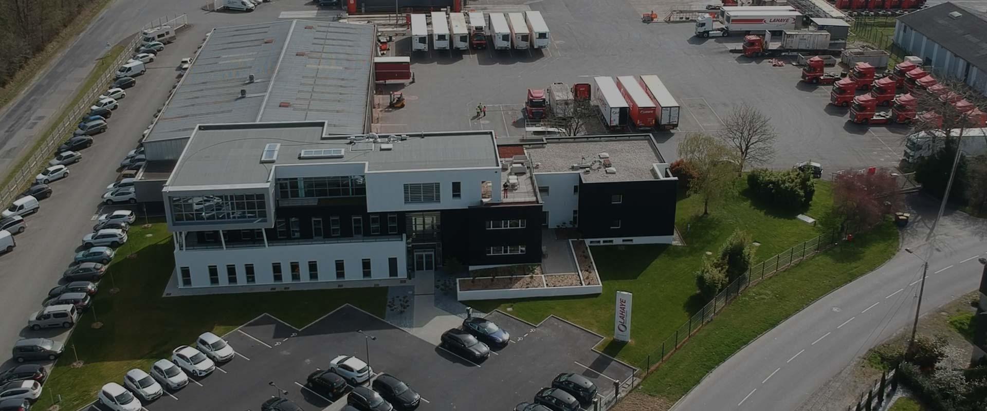 Lahaye Global Logistics Contactez Nous Header