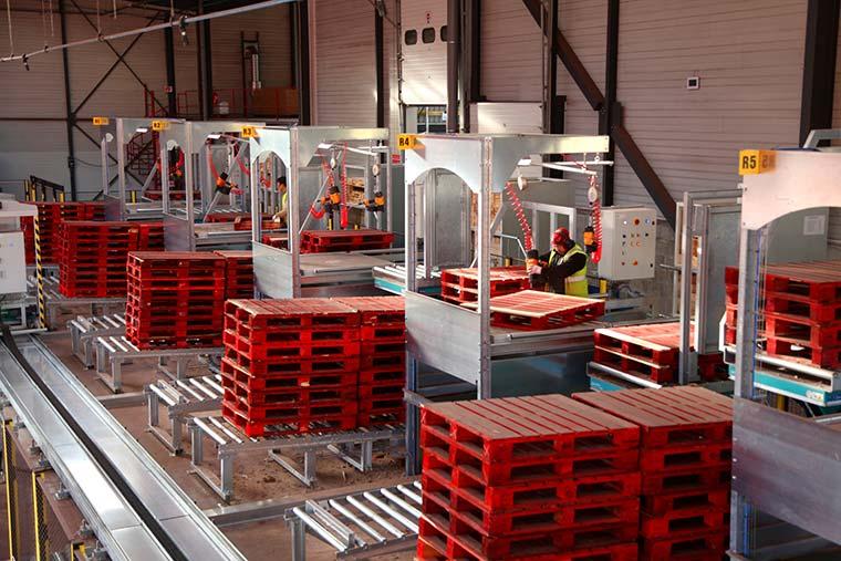 Lahaye Global Logistics Developpement Durable Reconditionnemet De Palette