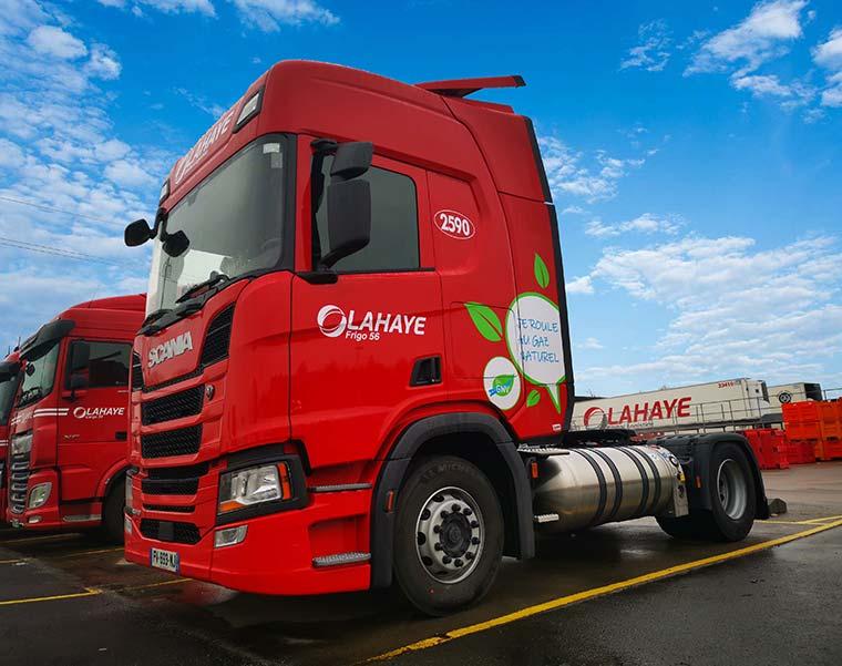 Lahaye Global Logistics Developpement Durable Tracteur Gaz