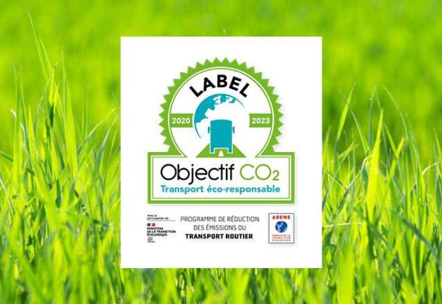 Obtention du Label Objectif CO2