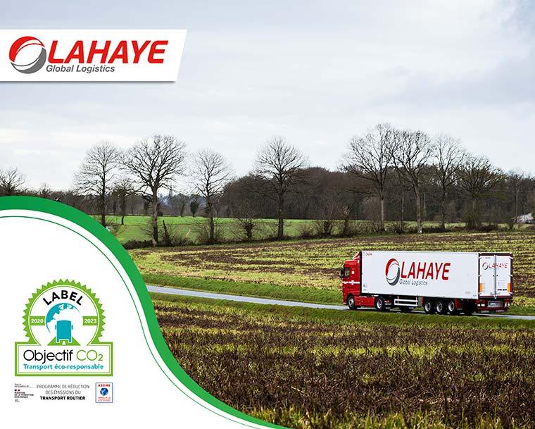 Lahaye Global Logistics Label Objectif Co2