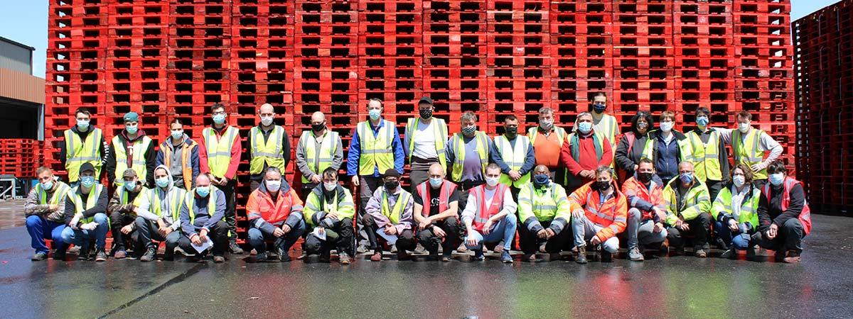 Lahaye Global Logistics Lahaye Packaging Grand Fougeray Equipe