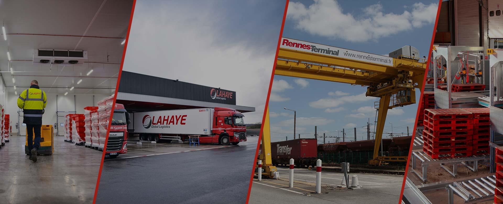 Lahaye Global Logistics Logistique Nos Metiers Header