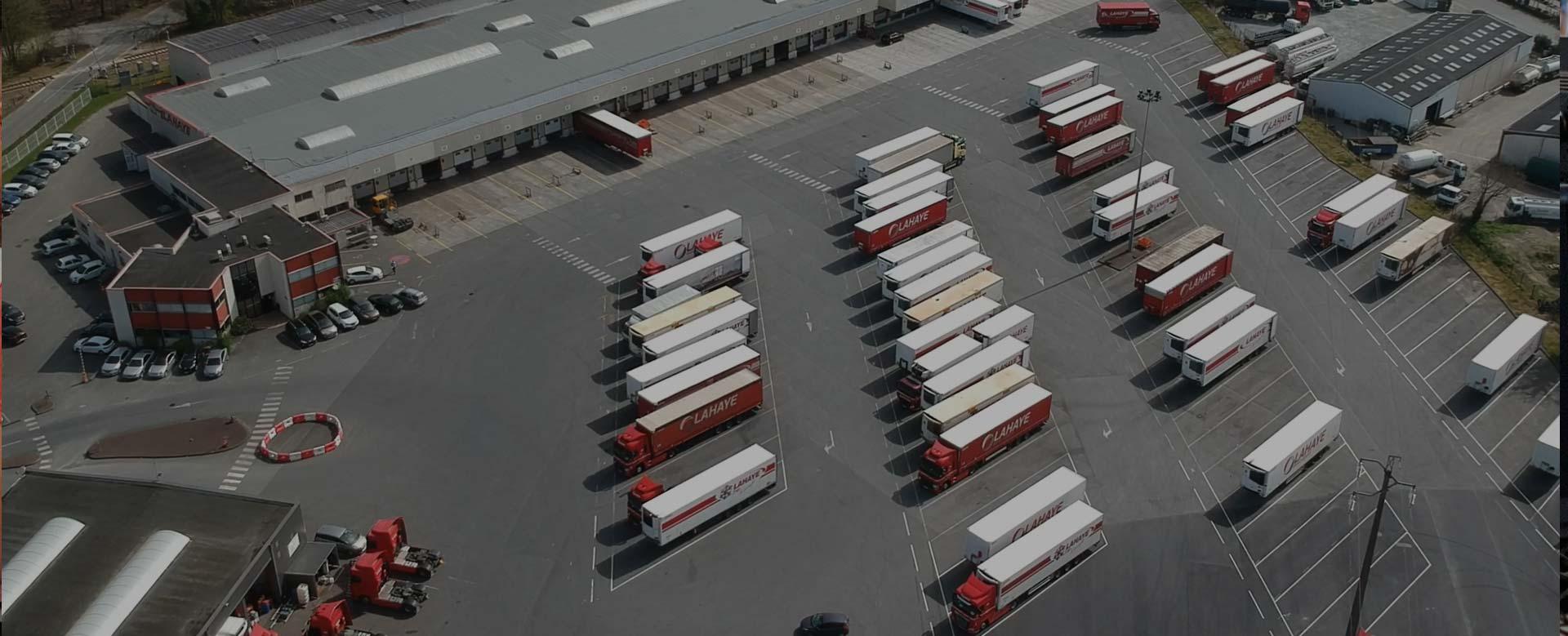 Lahaye Global Logistics Organisation De Transport Header