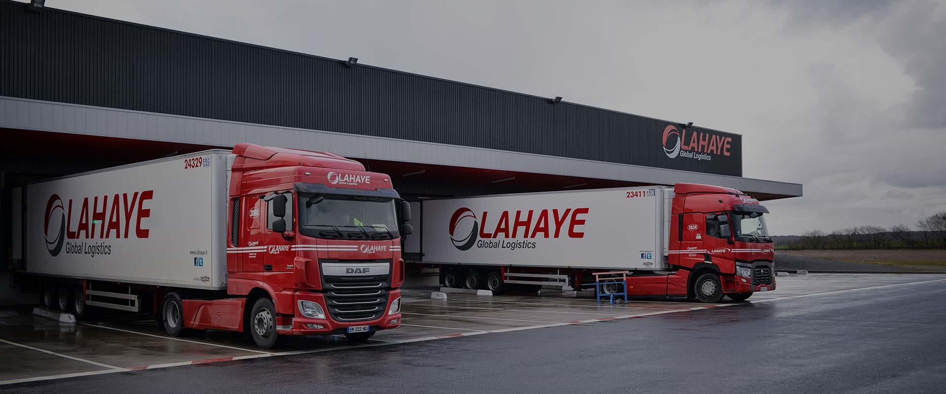Lahaye Global Logistics Transport Frigorifique Header