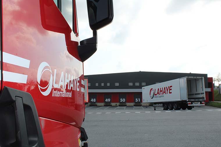 Lahaye Global Logistics Transport International Plateforme Cesson