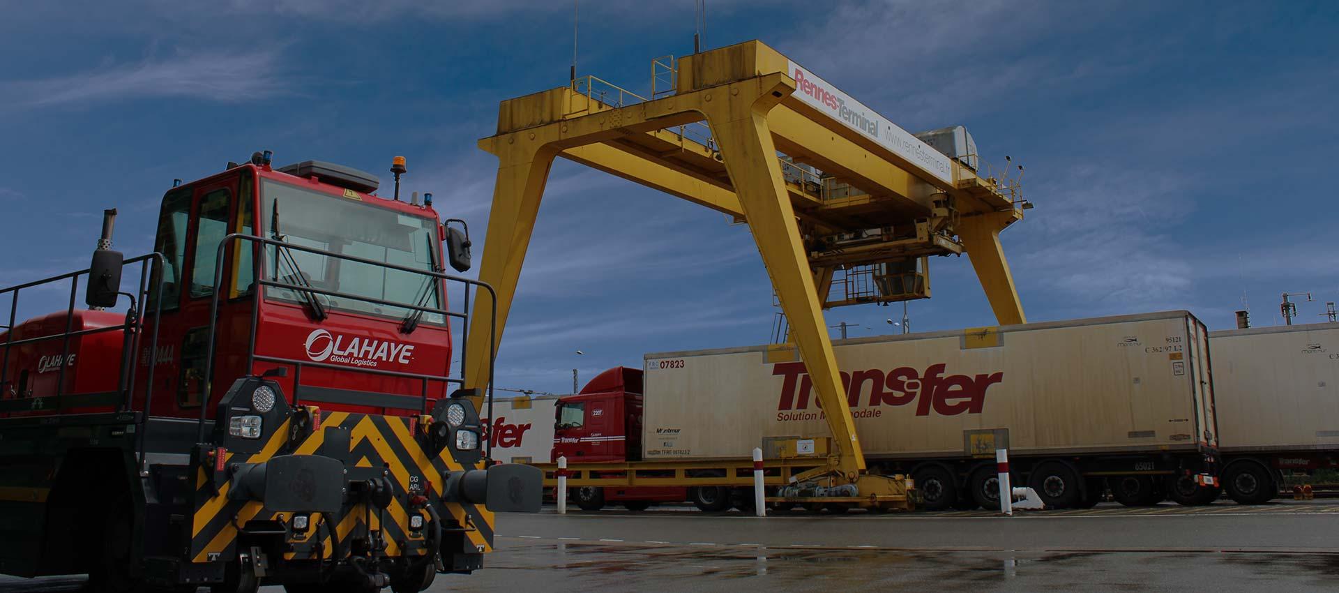 Lahaye Global Logistics Transport Multimodal Rail Route Couverture 1