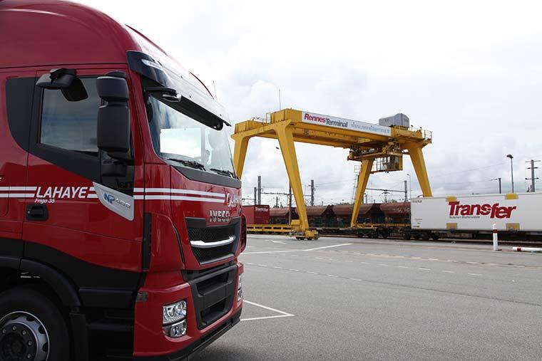 Lahaye Global Logistics Transport Multimodal Rail Route