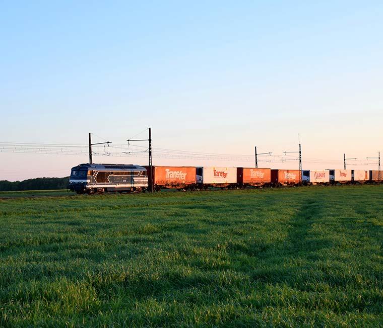 Lahaye Global Logistics Transport Multimodal Train