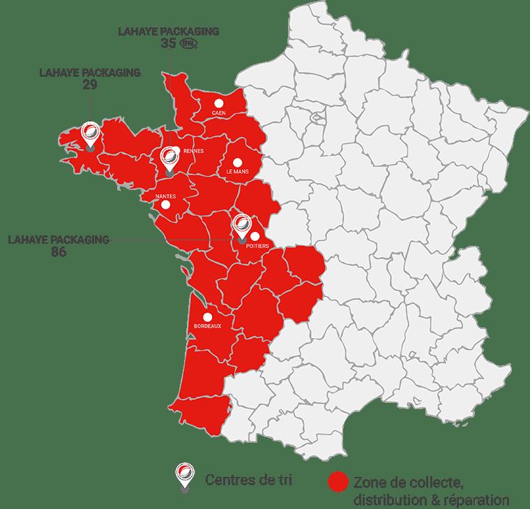 Lahaye Global Logistics Valorisation De Palettes Centres De Tri